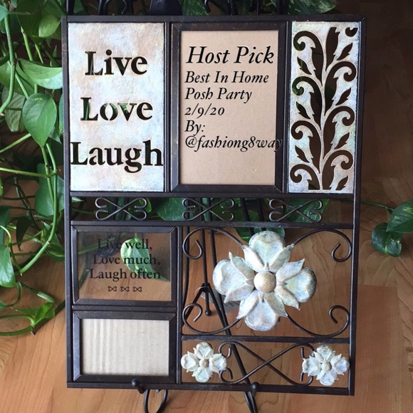 Accents Hp Wall Decor Live Love Laugh Poshmark